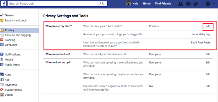"Help Myself - Facebook Privacy Review3"" ""height="
